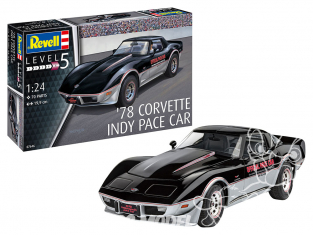 Revell maquette voiture 67646 MODEL SET '78 Corvette Indy Pace Car 1/25