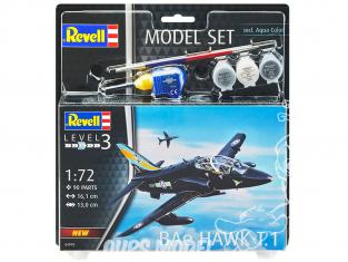 Revell maquette avion 64970 Model Set BAe Hawk T.1 1/72