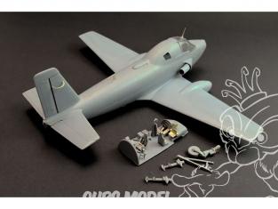 Brengun kit d'amelioration avion BRL72197 Breguet 1050 Alize pour kit Azur-FRROM 1/72