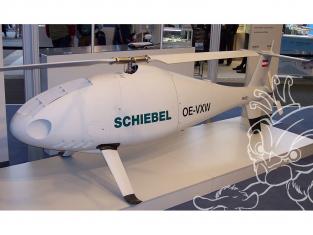 Brengun maquette avion BRS72015 S-100 Camcopter en resine 1/72