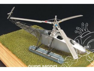 Brengun maquette helicoptére BRS72016 Vought-Sikorsky VS-300 en resine 1/72