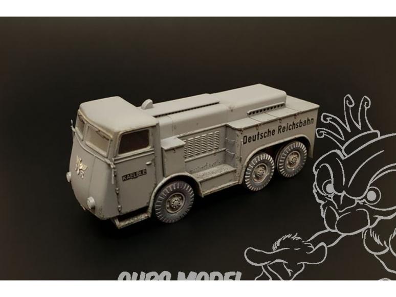 Hauler kit militaire HLP72033 Kaelble Z6R 1/72