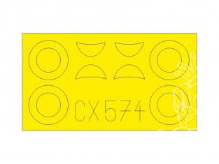 Eduard Express Mask CX574 U-2 / Po-2VS Icm 1/72