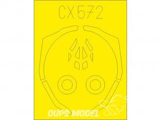 Eduard Express Mask CX572 F-35B Academy 1/72
