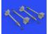 Eduard kit d'amelioration brassin 632152 Armement AIM-9D 1/32