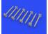 Eduard kit d'amelioration brassin 632154 Roquettes HVAR 1/32
