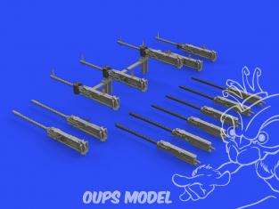 Eduard kit d'amelioration avion brassin 648539 Guns B-17 Hk Models 1/48