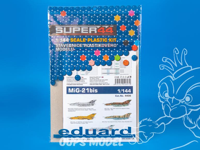 EDUARD maquette avion 4436 MiG-21Bis Super44 1/144