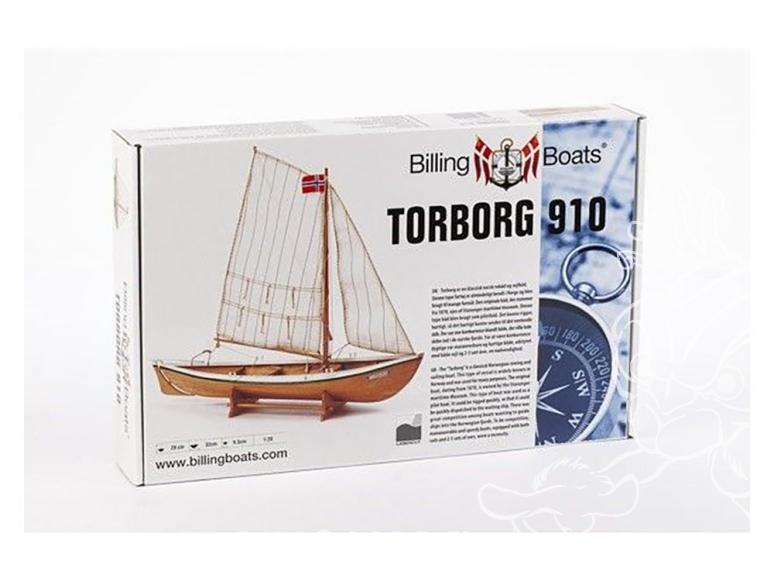 Billing boats bateau bois 910 Torborg 1/20