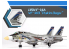 """Academy maquette avion 12563 USN F-14A VF-143 """"Pukin Dogs"""" 1/72"""