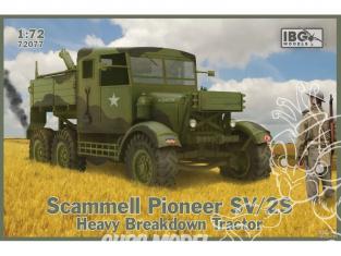 IBG maquette militaire 72077 Scammell Pioneer SV / 2S Tracteur de dépannage lourd 1/72