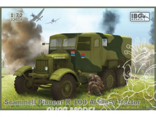 IBG maquette militaire 72078 Tracteur d'artillerie Scammell Pioneer R100 1/72