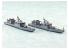 Aoshima maquette bateau 48177 Hayabusa Umitaka J.M.S.D.F. Water Line Series 1/700