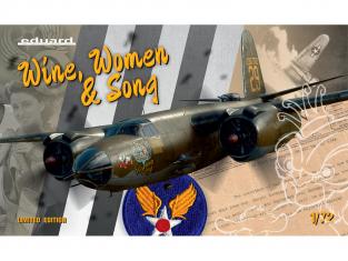 EDUARD maquette avion 2129 Wine Women & Song B-26B/C Marauder ETO & MTO Edition Limitée 1/72