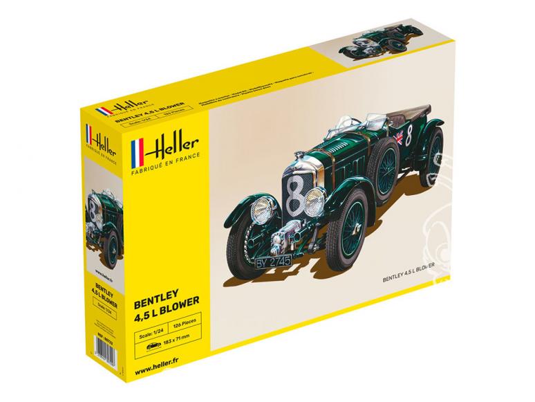 HELLER maquette voiture 80722 Bentley 4.5 Blower 1/24