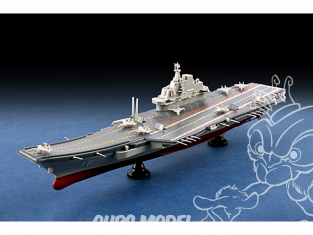 TRUMPETER maquette bateau 07313 Porte-avions PLA Navy LiaoNing CV-16 1/1000