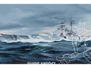 TRUMPETER maquette bateau 05358 Cuirassé allemand Bismarck 1/350