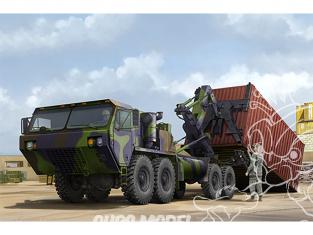 TRUMPETER maquette militaire 01064 Unité de manutention de conteneurs HEMTT M1120 (CHU) 1/35