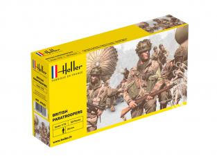 Heller maquette militaire 49623 Paras Britaniques 1/72