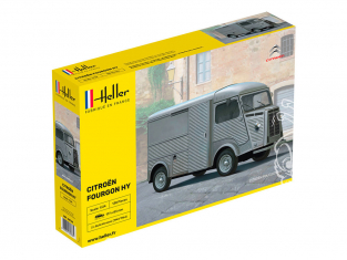 Heller maquette voiture 80768 Tube HY Citroen Fourgon Type H 1/24