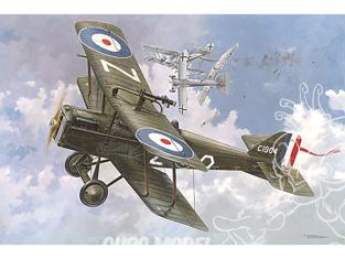 Roden maquettes avion 416 RAF S.E.5a avec un moteur wolseley viper 1/48