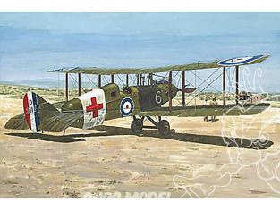 Roden maquettes avion 436 De Havilland DH9 Ambulance 1/48