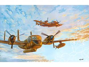 Roden maquettes avion 410 OV-1B/OV-1C Mohawk 1/48