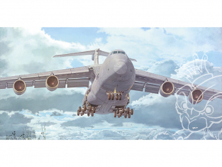 Roden maquette avion 332 C-5M Super Galaxy 1/144