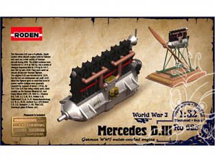 roden maquette avion 623 Mercedes D.III 1/32