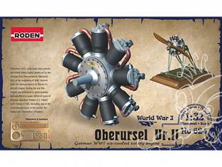 roden maquette avion 624 Oberursel Ur.II 1/32