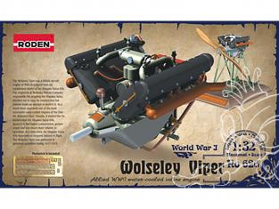 roden maquette avion 626 Wolseley Viper 1/32