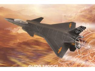 Hobby Boss maquette avion 81902 J-20 Mighty Dragon briques a assembler 200mm
