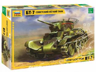 Zvezda maquette militaire 3545 Char léger soviétique BT-7 1/35