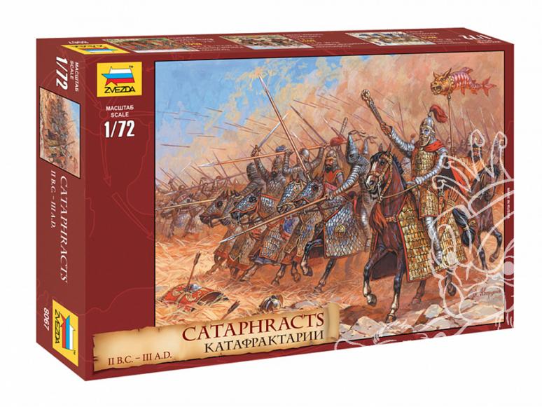 Zvezda maquette figurines 8067 Cataphractes 1/72