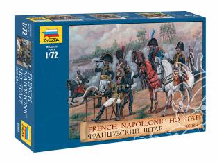 Zvezda maquette figurines 8080 Siège français dirigeants 1805-1814 1/72