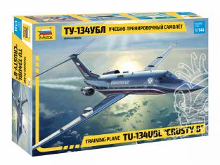 Zvezda maquette avion 7036 Avion d'entraînement TU-134UBL 1/144