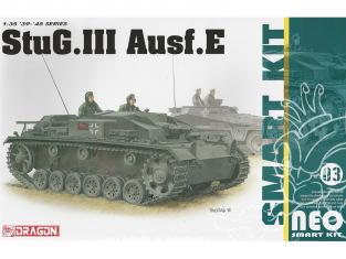 Dragon maquette militaire 6818 StuG.III Ausf.E (Neo Smart Kit) 1/35