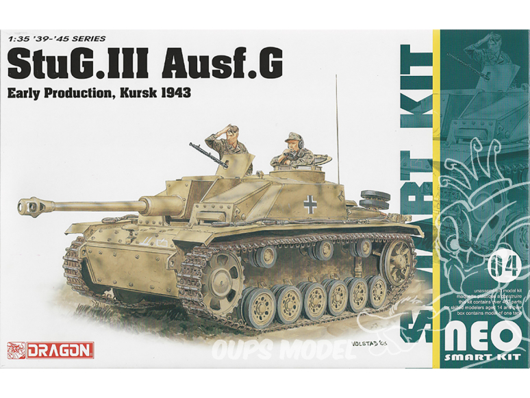 Dragon maquette militaire 6927 StuG.III Ausf.G Early Production, Kursk 1943 (Neo Smart Kit) 1/35