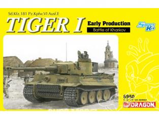 Dragon maquette militaire 6950 Bataille de production précoce de Tiger I de Kharkov 1/35