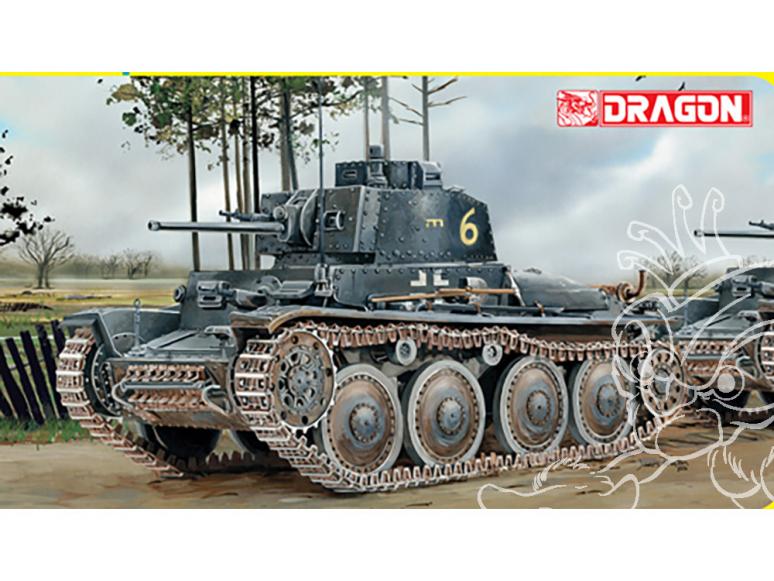 Dragon maquette militaire 6290 Pz.Kpfw.38 (t) Ausf.G avec intérieur 1/35