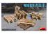Mini Art maquette militaire 35627 PALETTES EN BOIS 1/35