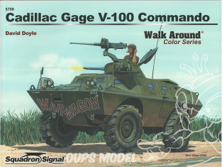 Librairie Squadron 5708 Cadillac Gage V-100 Commando Walk Around