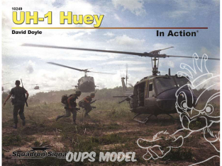 Librairie Squadron 10249 UH-1 Huey In Action (SC)