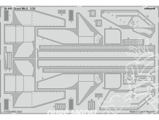 Eduard photodecoupe militaire 36445 Amélioration Grant Mk.II Mini Art 1/35