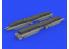 Eduard kit d'amelioration brassin 632156 Armement GBU-39 w/BRU-61 1/32