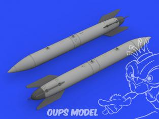 Eduard kit d'amelioration avion brassin 648559 B-61 Bombes nucléaires 1/48