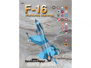 Librairie Squadron 6091 Worldwide F-16 Markings