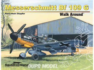 Librairie Squadron 25043 Messerschmitt Bf 109G Walk Around