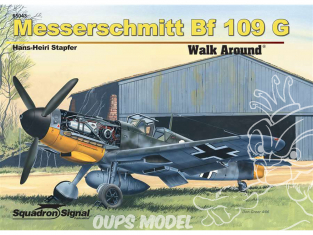 Librairie Squadron 65043 Messerschmitt Bf 109G Walk Around version luxe