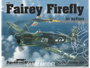 Librairie Squadron 1200 Fairey Firefly in Action